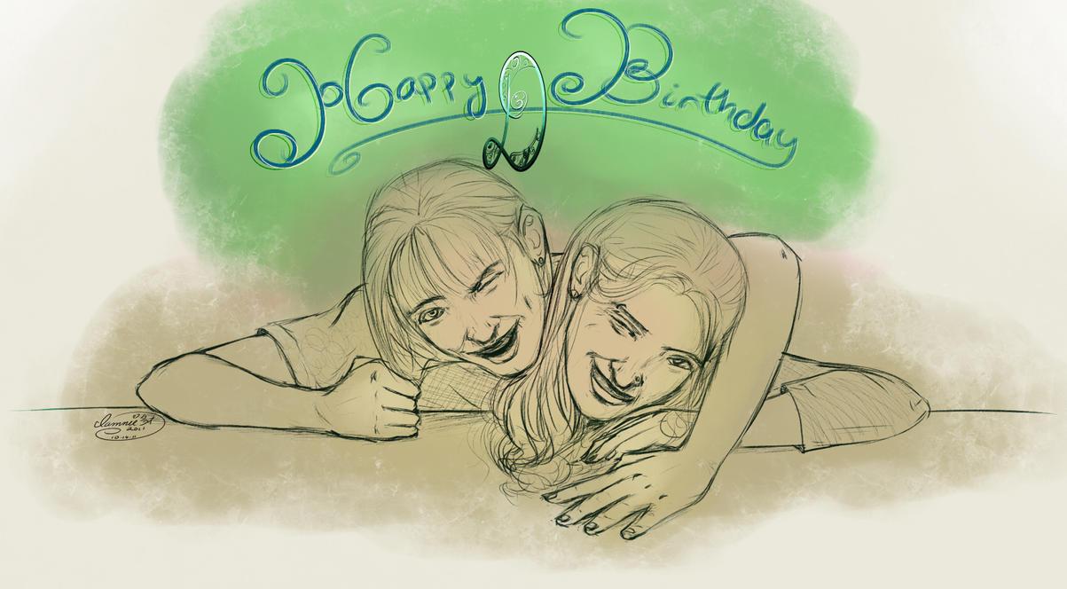 FR 9 - 10-14-11 and Birthday by iamniquey
