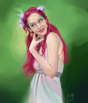 Pink - Paint Sketch 2013-10-20