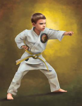 Parker the Karate Kid