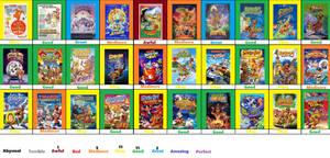 Hanna-Barbera Films Scoreboard Part 1