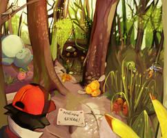 Pokemon massacre by SamanthaMusticone