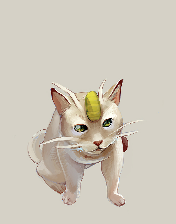 Meowth by SamanthaMusticone
