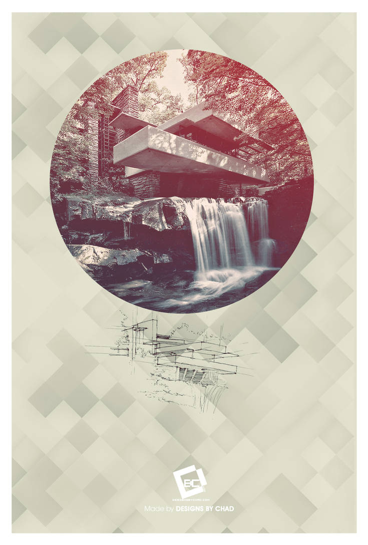 Frank Lloyd Wright Poster by Chadski51