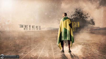 Usain Bolt Wallpaper by Chadski51