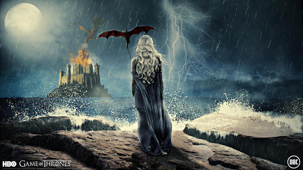 Game Of Thrones Wallpaper Daenerys by Chadski51Game Of Thrones Season 4 Dragons