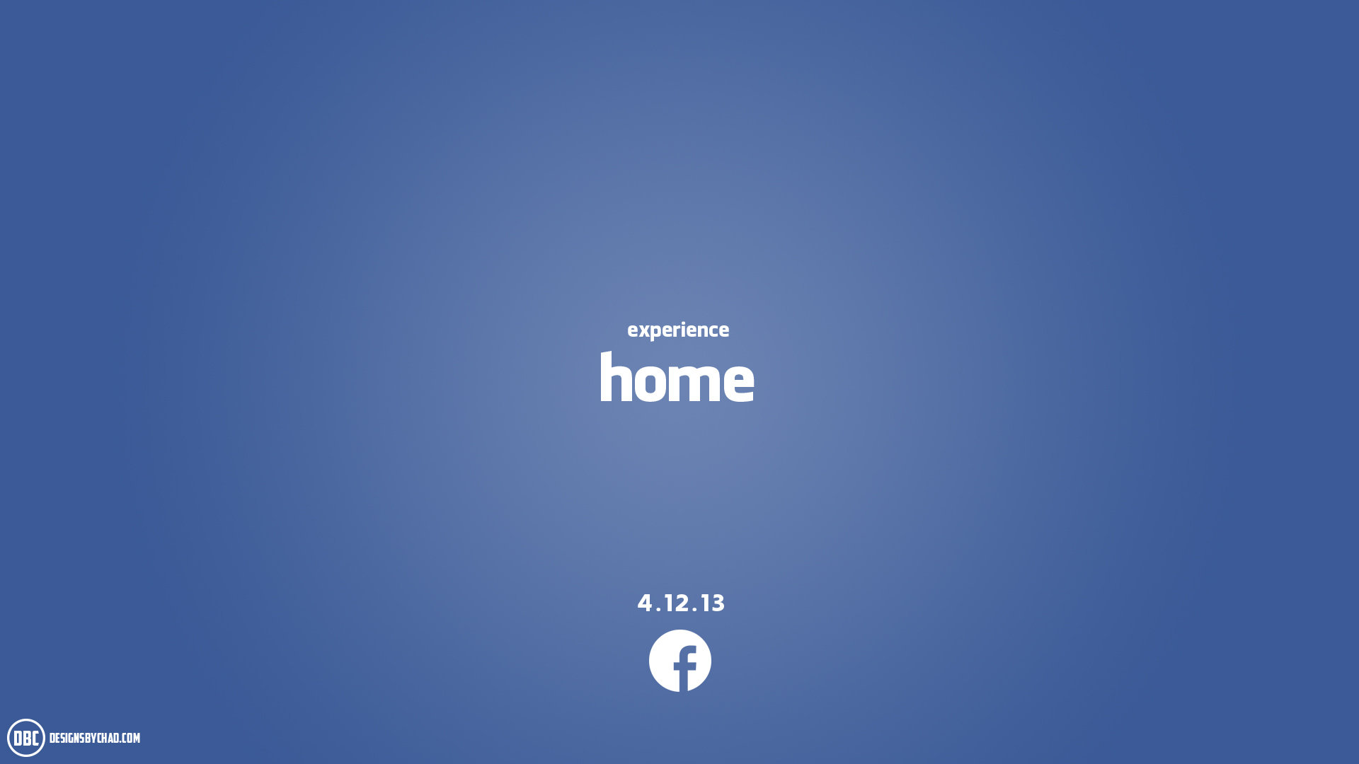 Facebook Home Wallpaper by Chadski51