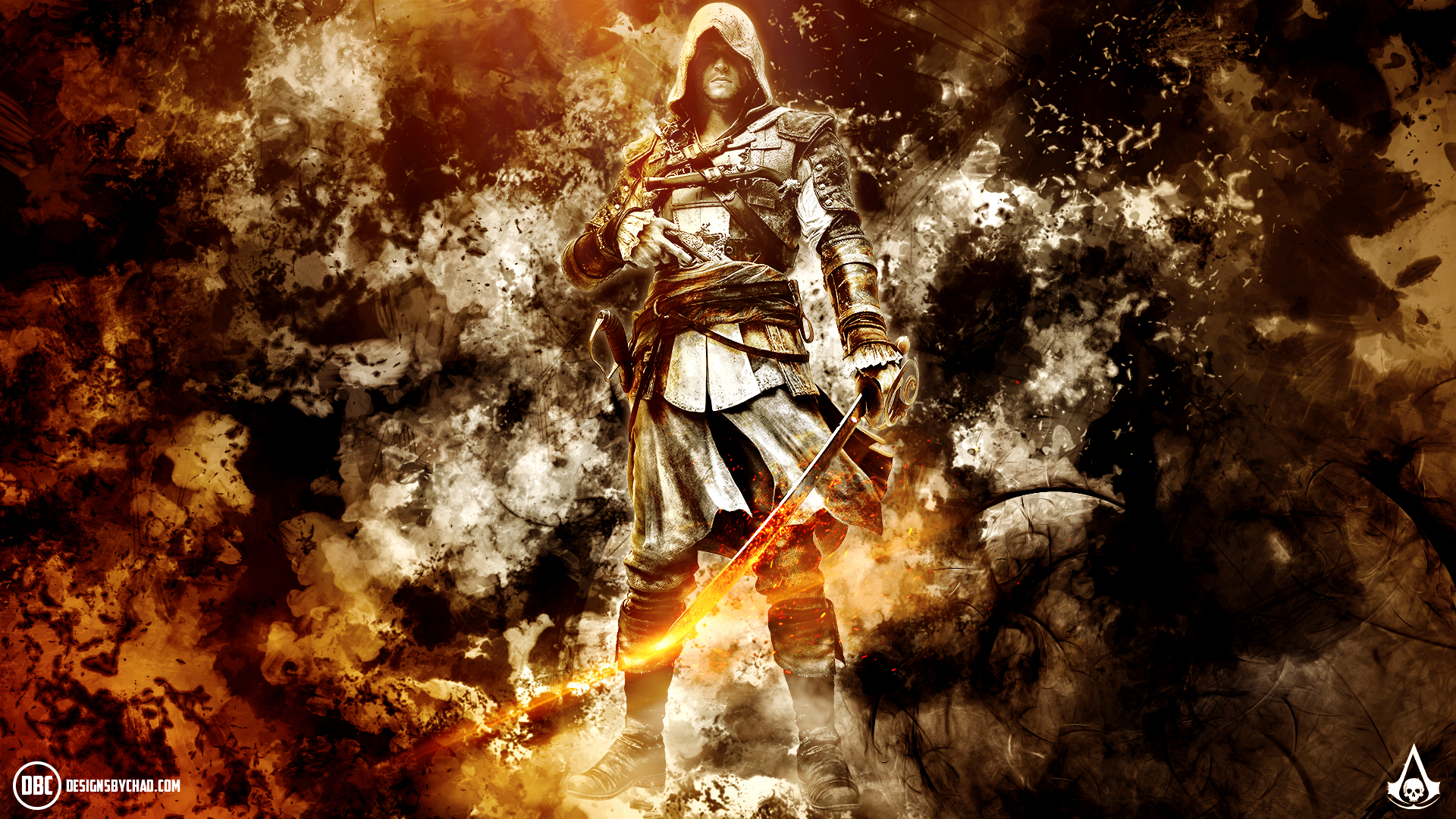 Assassin's Creed Black Flag Wallpaper by Chadski51