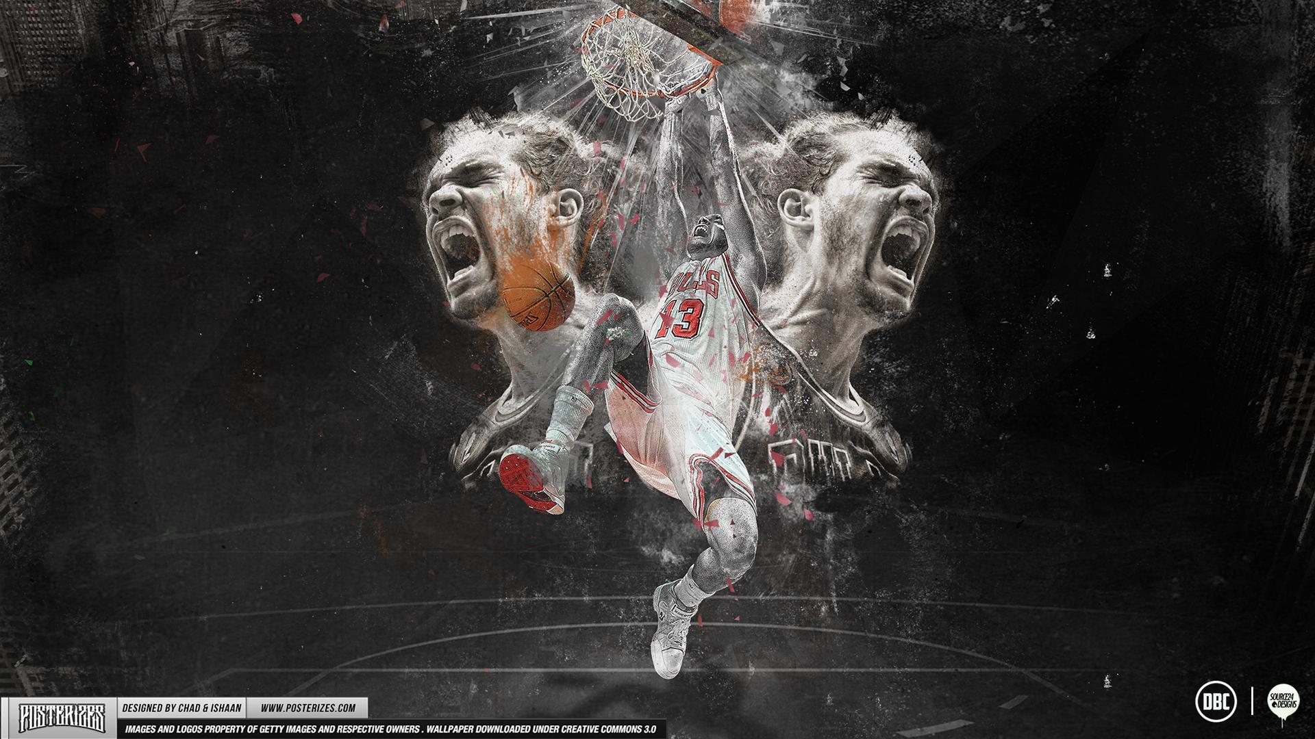 Joakim Noah Passion Wallpaper by Chadski51