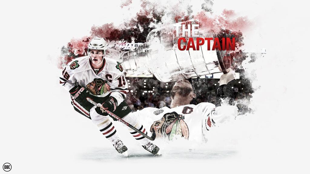 Jonathan Toews - The Captain by Chadski51