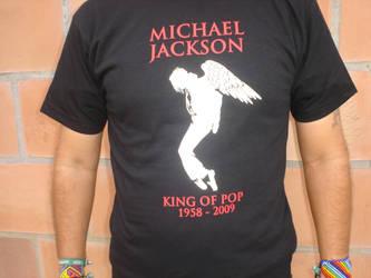 Michael Jackson tribute by panguanochito