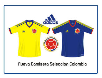 Nueva Camiseta Colombia by panguanochito