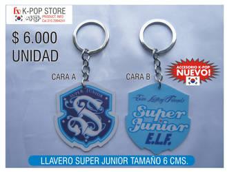 super junior keychain by panguanochito