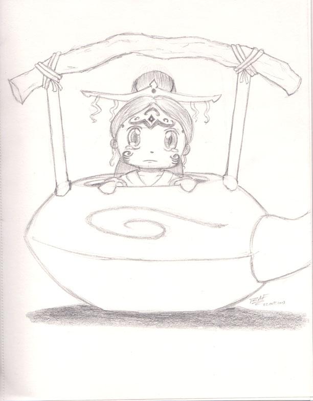 Raava in a Teapot by RAFstoryart