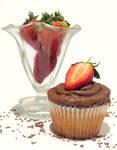 Choco-berry Cupcake