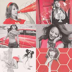 Lee Hyori in Red