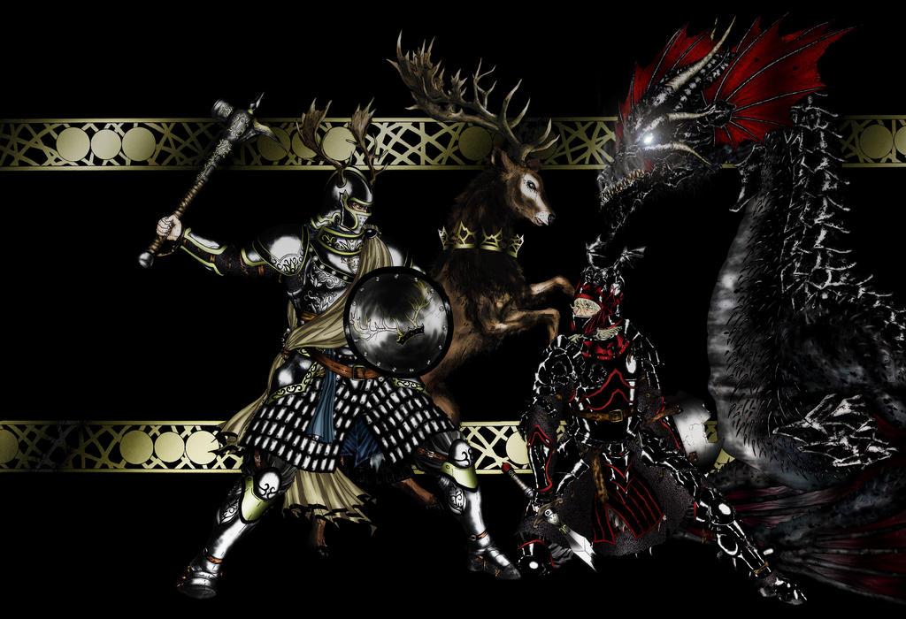 robert baratheon vs rhaegar targaryen wallpaper related keywords and