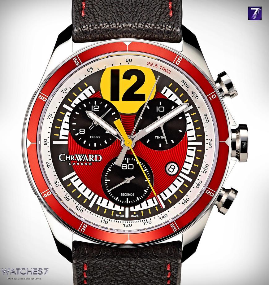 Christopher Ward C70 3527 GT watch by jamesaevans