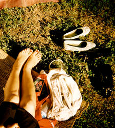 Shoes Off, Summer On by Skyfell