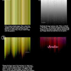 'Northern Lights' Tutorial by -aradia-