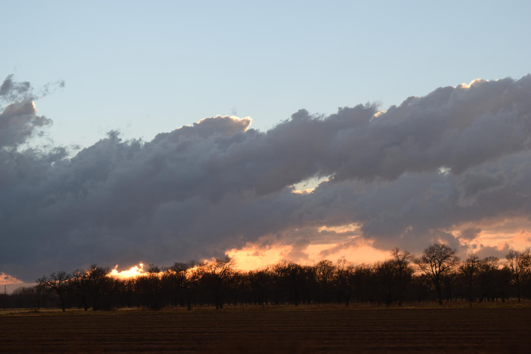 Sunset Fires by bluecuban