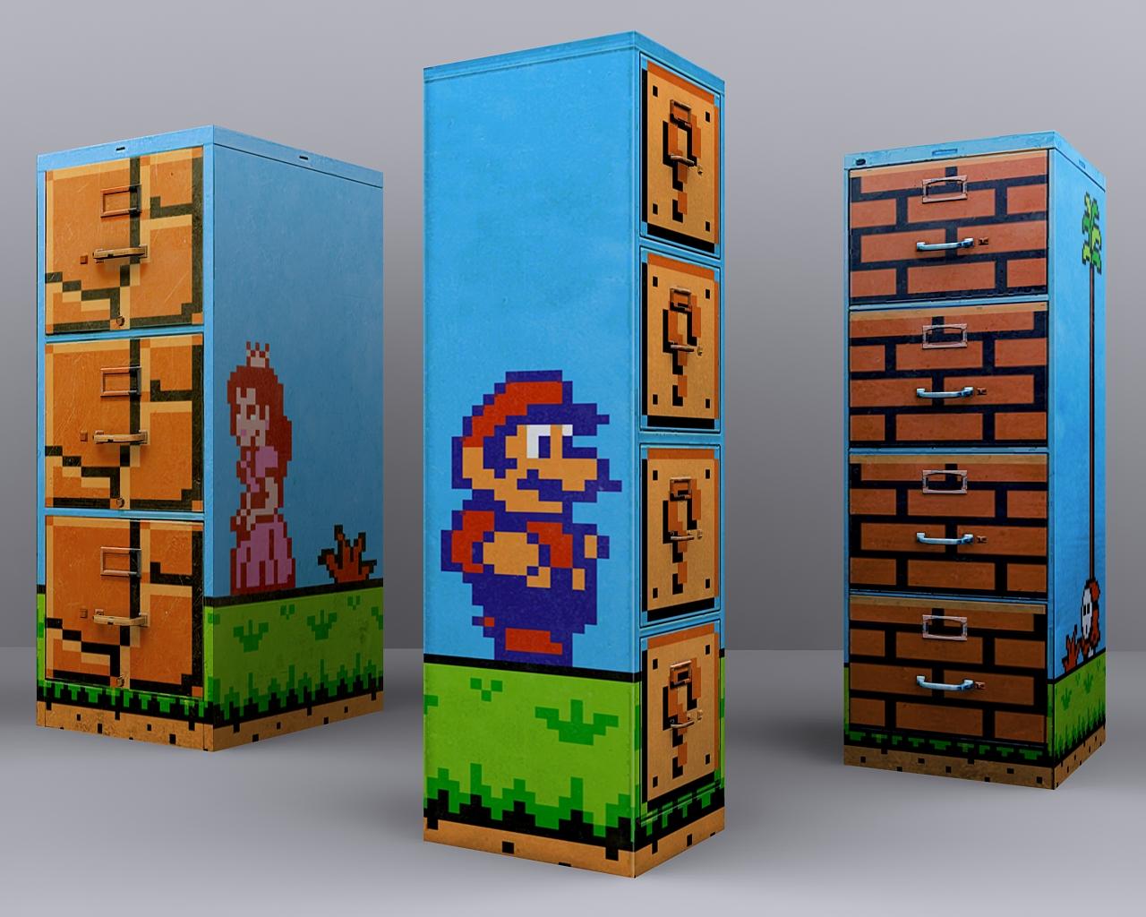Super Mario 2 - File Cabinets