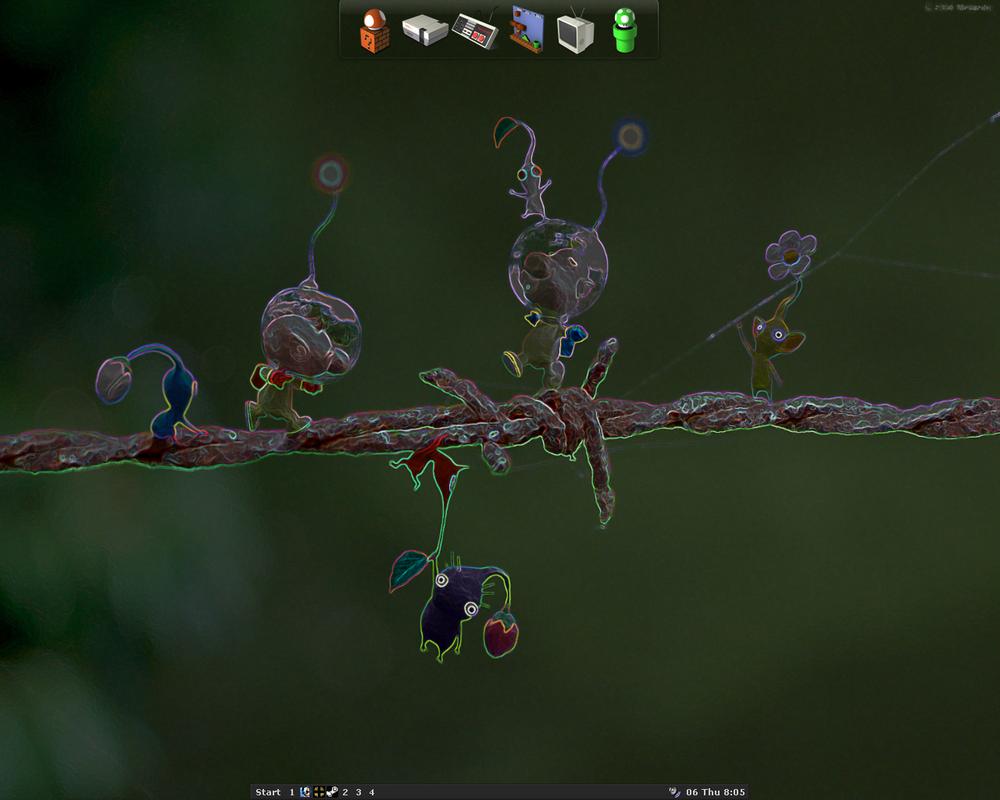 desktop by nintentofu
