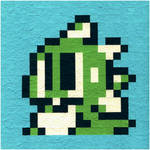 Bubble Bobble - Bub - Hud Icon by nintentofu