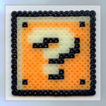 Mario Question Block Beads
