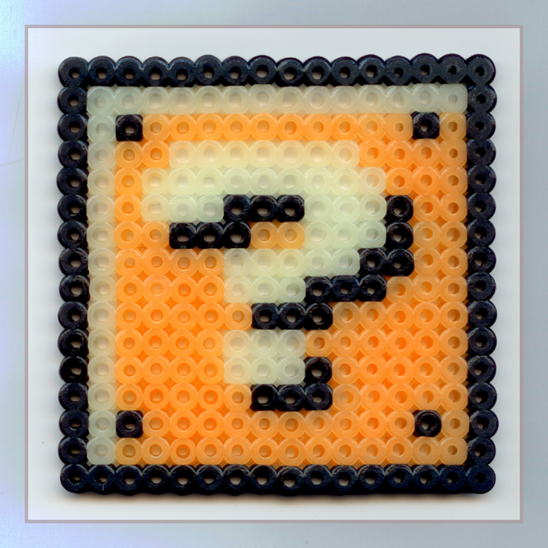 Mario Question Block Beads By Nintentofu On DeviantArt