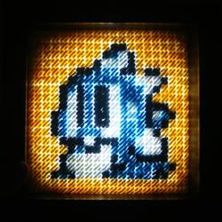 Bubble Bobble Stitch Craft / Light Box