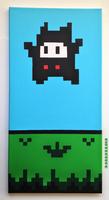 Super Mario 2 (USA) - Ninji Scroll Art