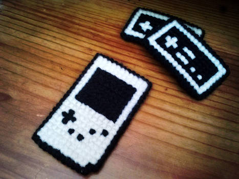 Nintendo Gameboy Stitch Craft