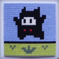 Super Mario 2 (USA) - Ninji Stitch Craft