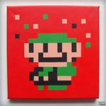 [NES] Super Mario Bros 3 (mini-game) - Luigi!