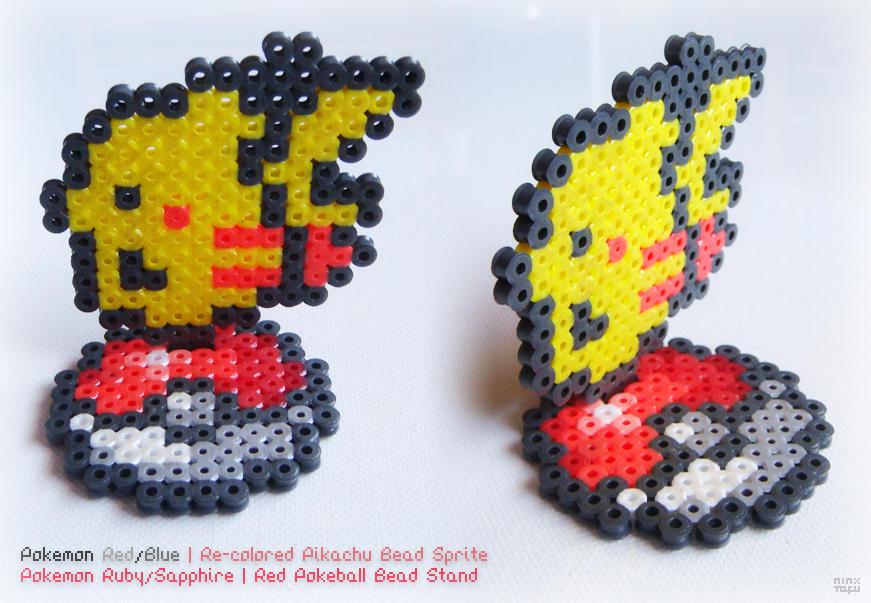 Pokemon Red/Blue | Recolered Pikachu on Pokeball