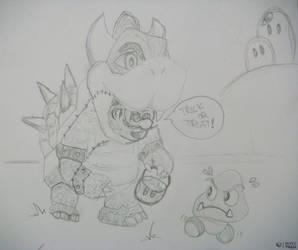 Super BOWSER! (psst.. it'sa me, mario!) 64!  :D