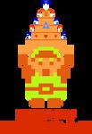 Legend of Zelda - Link and Birthday Cake! by nintentofu