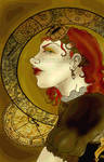 Steampunk Mucha by Sword-And-Pencil