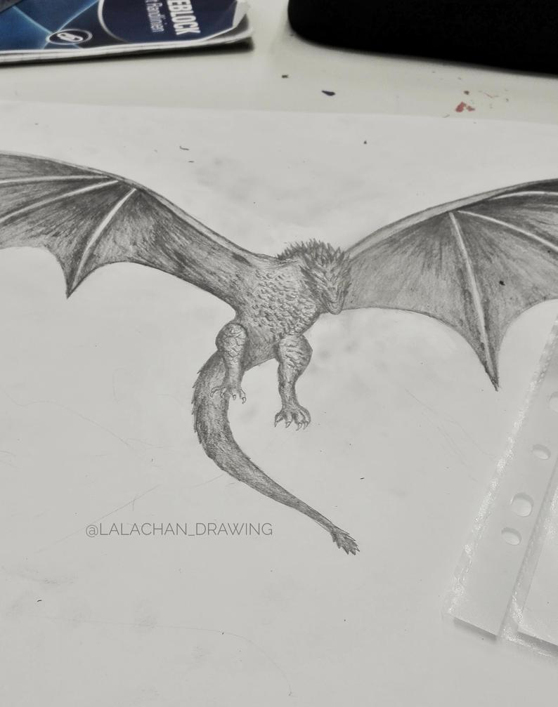 Drogon by LalachanDrawing