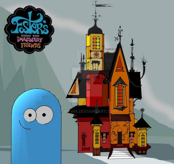 fosters home for imaginary friends house