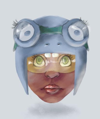 Girlfrog by babango