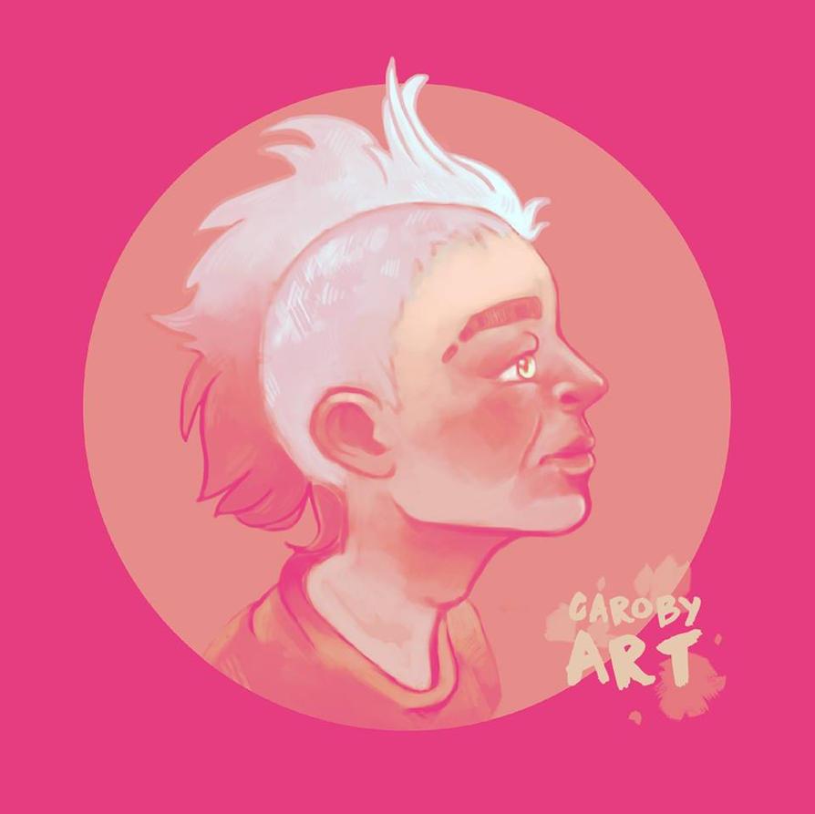 Pink Mohawk by babango