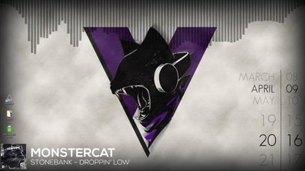 RedBigeyes Desktop - Monstercat by RedBigeye