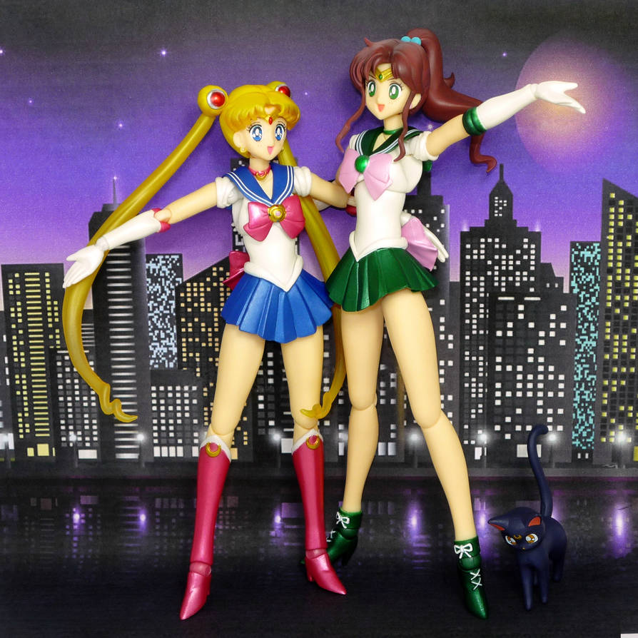 S.H. Figuarts Sailor Moon and Sailor Jupiter ep 29 by MoonCollectar