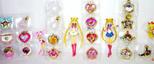 Sailor Moon Miniaturely Tablets n stuff by MoonCollectar