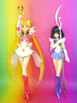 S.H. Figuarts Super Sailor Moon, Sailor Saturn by MoonCollectar