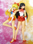 Sailor Moon S.H. Figuarts Sailor Venus Sailor Mars by MoonCollectar