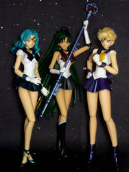 Sailor Moon S.H. Figuarts outers by MoonCollectar