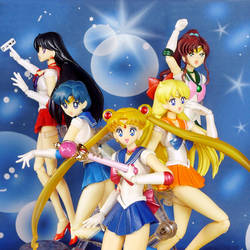 Sailor Moon S.H. Figuarts inners