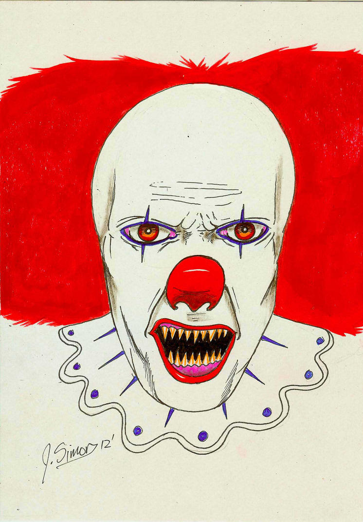 Pennywise by JSimonART